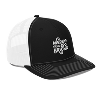 MERRY AND BRIGHT - Trucker Cap