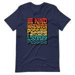 IT IS ALWAYS POSSIBLE INTERLOCK (VINTAGE SUNSET) - Short-Sleeve Unisex T-Shirt
