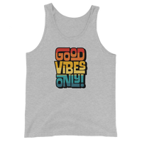 GOOD VIBES ONLY INTERLOCK (VINTAGE SUNSET) - Unisex Tank Top
