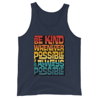 IT IS ALWAYS POSSIBLE INTERLOCK (VINTAGE SUNSET) - Unisex Tank Top