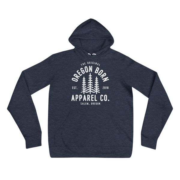 The Original Oregon Born Apparel Co. - Unisex Hoodie