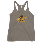 BIGFOOT BELIEVER PNW - Women's Racerback Tank