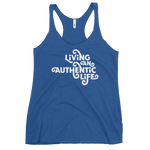 LIVING AN AUTHENTIC LIFE -  Women's Racerback Tank