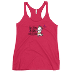OREGON BORN UNICORN - Women's Racerback Tank