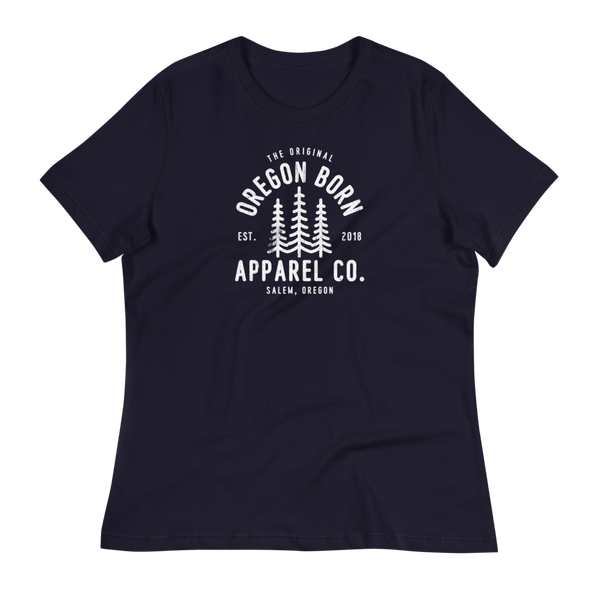 The Original Oregon Born Apparel Co. - Women's Relaxed T-Shirt
