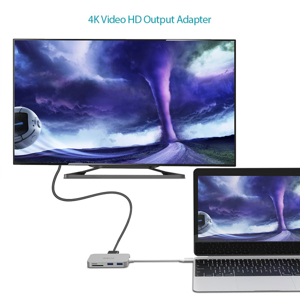 4K Video Output Hub 7-in-1