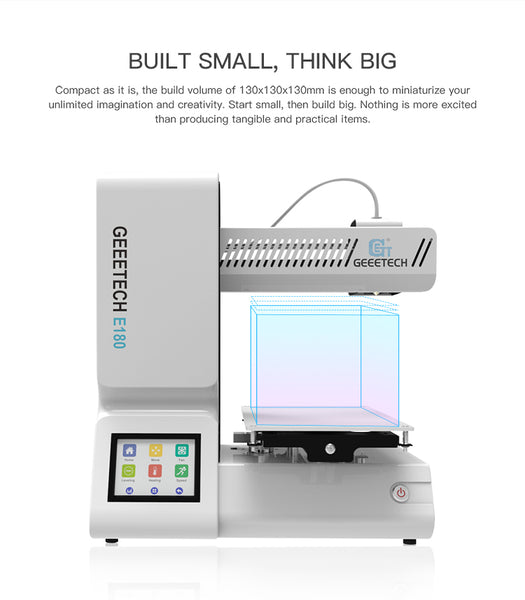 3D Printer with Full Color Touch Screen