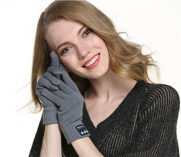 Bluetooth Winter Gloves with Mic