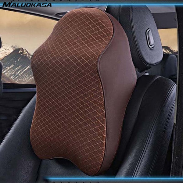 3D Memory Foam Car Neck Pillow ~ Adjustable