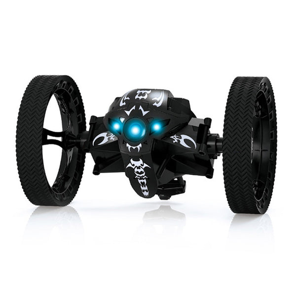 RC Jumping Car with LED Night Light