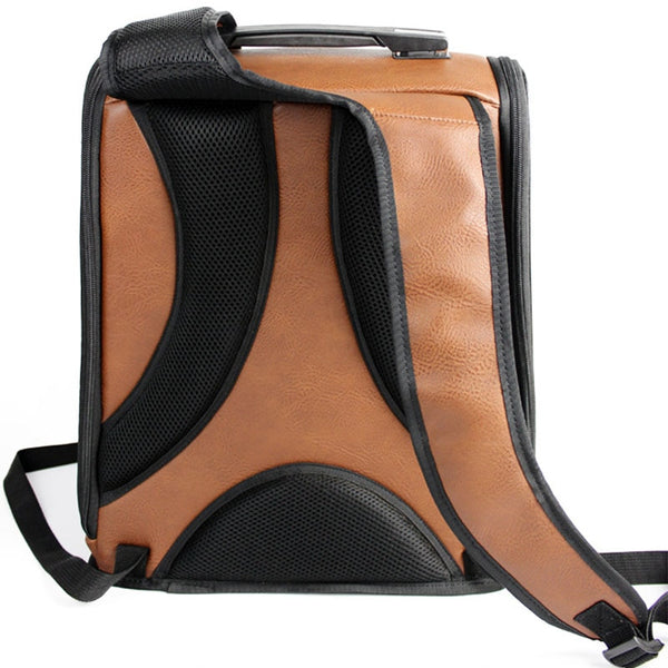 Leather Pet Backpack