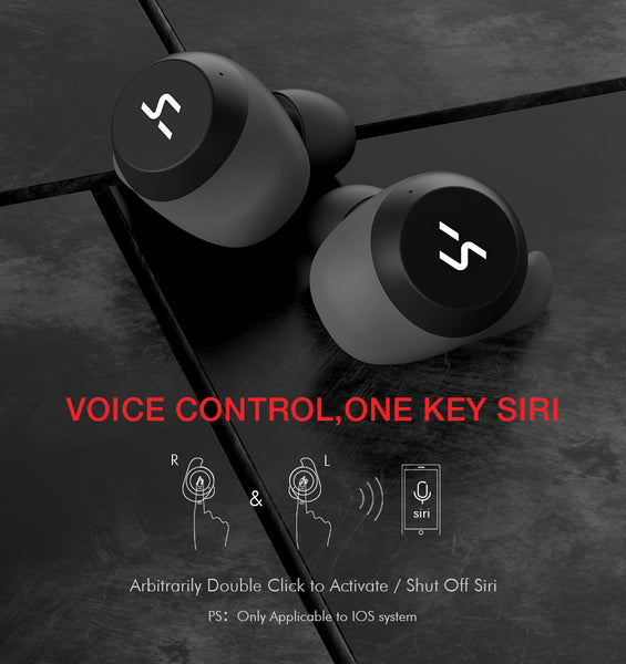 HAVIT Waterproof Stereo Earbuds With Mic