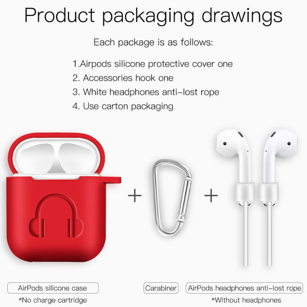 Protective Soft Headphone Case for Airpods
