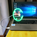 USB Fan with Time Display