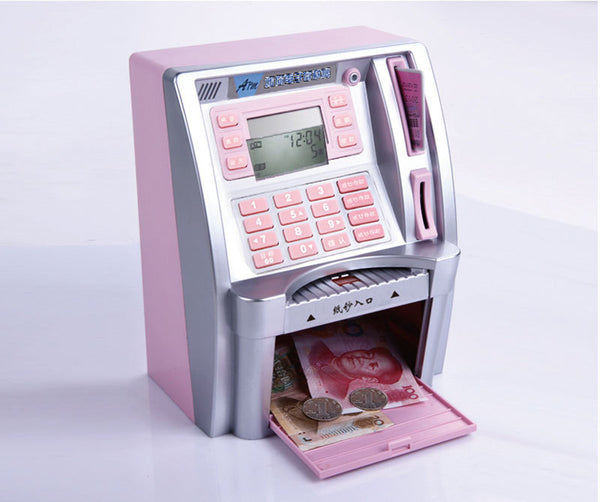 ATM Piggy Bank with Debt Card