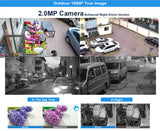 1080P HD Security Surveillance System 4CH