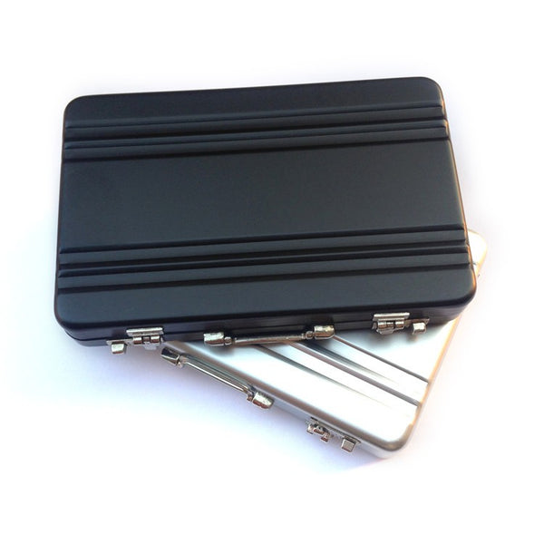 Mini Suitcase Business Card Holder