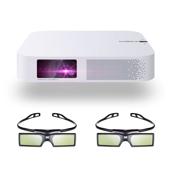 4K Smart Home Theater + 3D Glasses