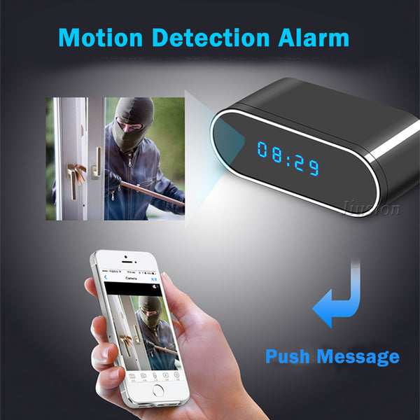 1080P Table Clock Camera