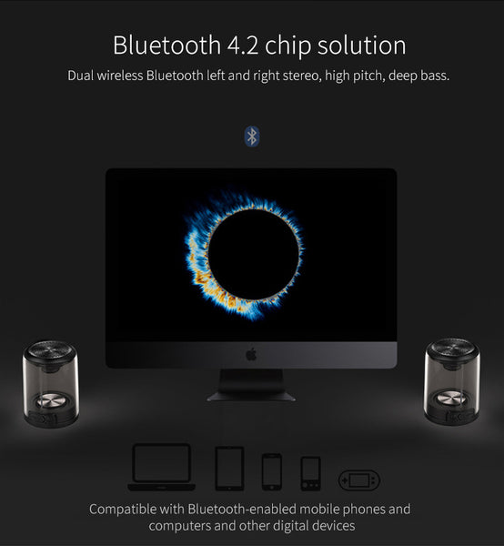 Portable Bluetooth Magnetic Speaker