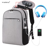 Nylon USB Charging Travel Bag
