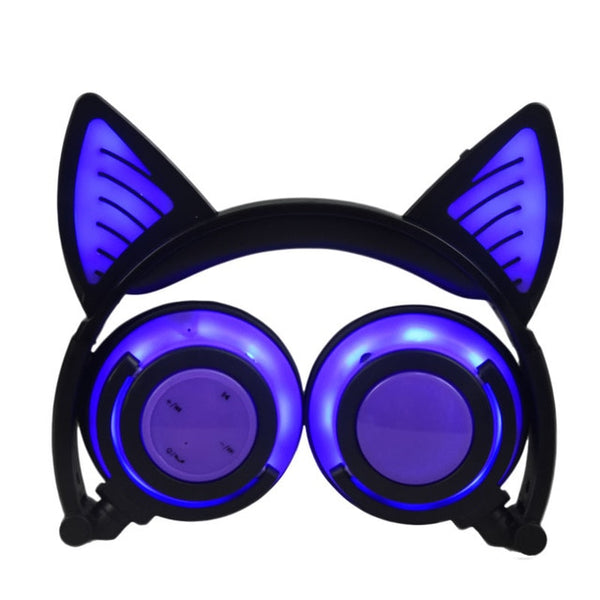 LED Cat Ears Headphones