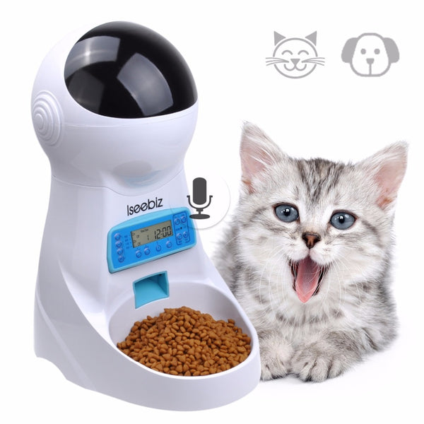 Automatic Pet Feeder + Voice Recording