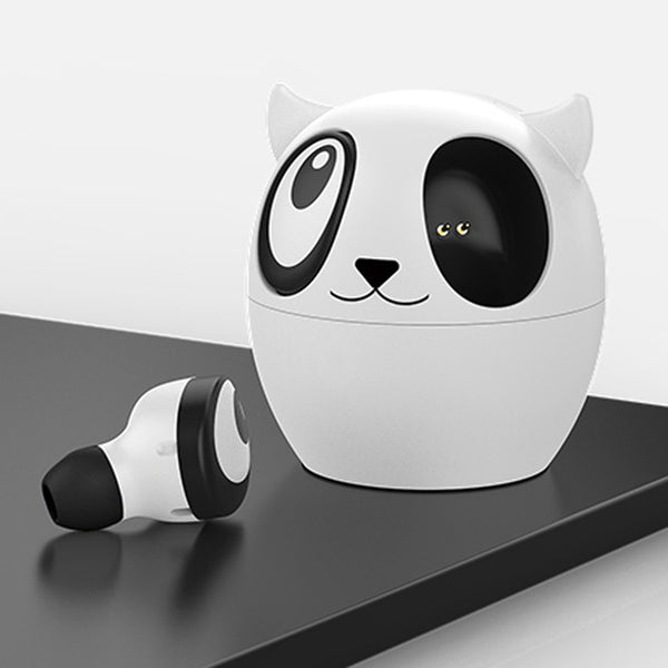 Panda Wireless Earbuds with Case