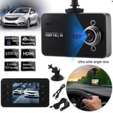 1080P HD Night/Day Car DVR Camera with FREE WARNING DECAL
