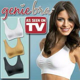 3pcs/set sexy genie Hot Bra With Pads plus size