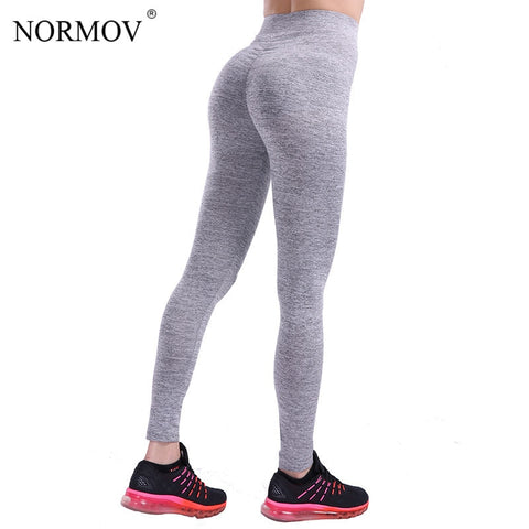NORMOV Casual Push Up Fitness Leggings 2018