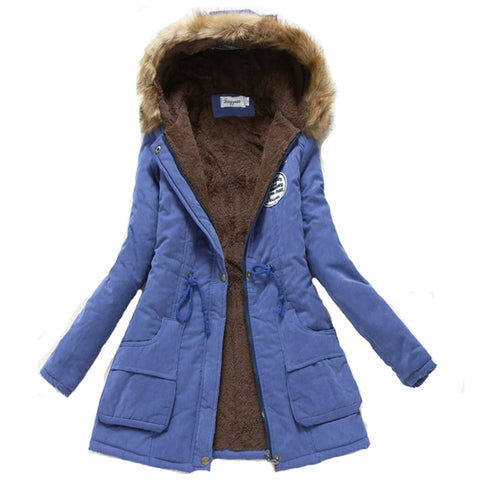 2018 women Hot Sale winter thicken warm coat