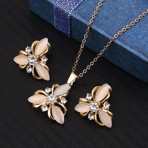 2018 Fashion Opal Jewelry Sets Hot Sale