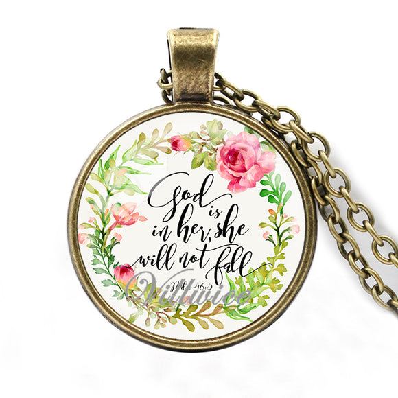 VILLWICE bible verse necklace 2018