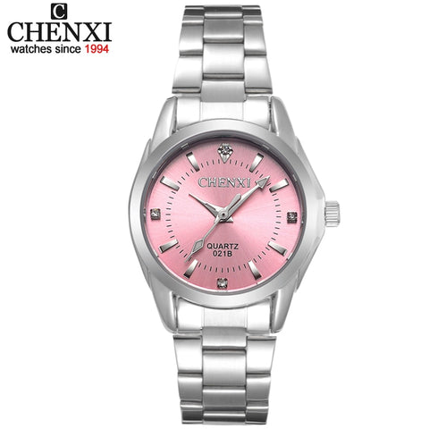 6 Fashion colors CHENXI CX021B Brand relogio Luxury 2018