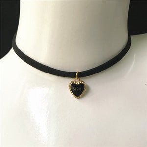 Fashion Charm Jewelry Women Gothic Black Lace Velvet