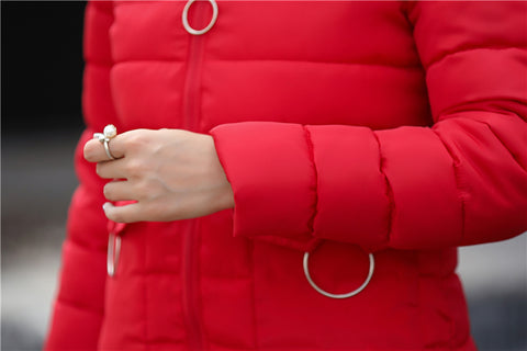 2018 Winter Jacket New Fashion Women Down jacket