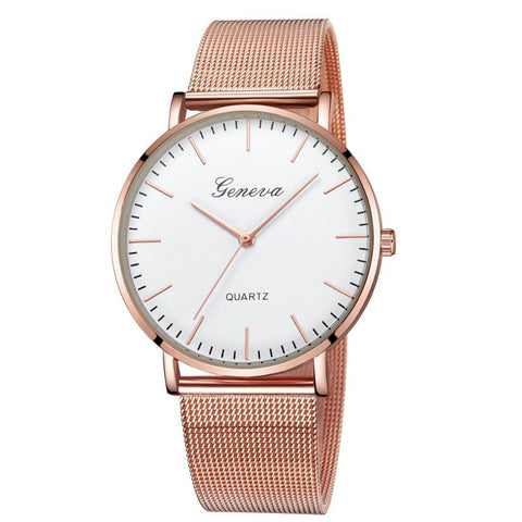 GENEVA Watches Womens 2018 New Brand Classic Quartz