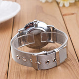 2018 New Fashion Unisex Women Ladies Silver Stainless
