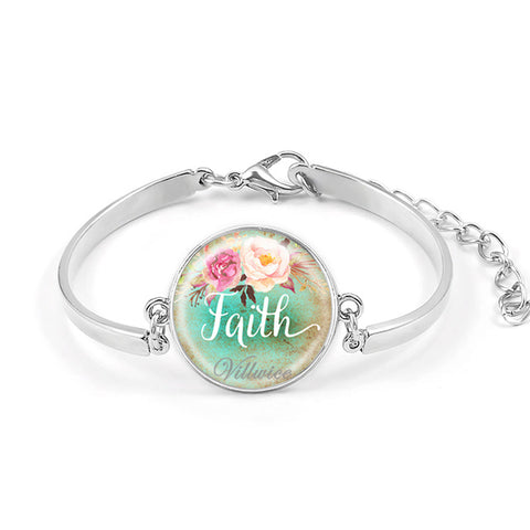 Handmade Bible Verse Bracelet Faith,Dream,Love,Hope Hot Sale