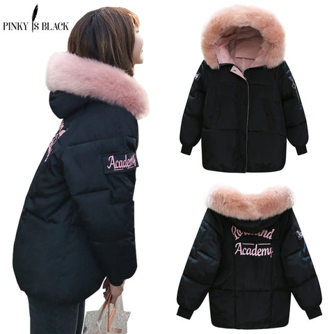 PinkyIsblack Winter Jacket Women 2018 New Fashion