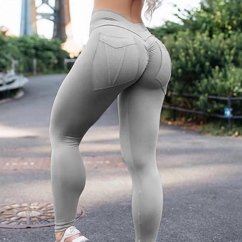 High Waist Leggings Push Up Fitness Legging