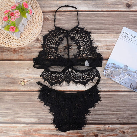 Laamei 3XL Hot Sale 2018 lace sexy bra embroidery
