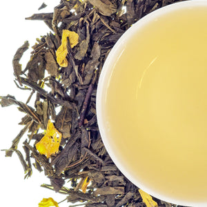 ChinChillin' Tea:  A fresh & light green tea with a hint of mango to chill like a chinchilla.