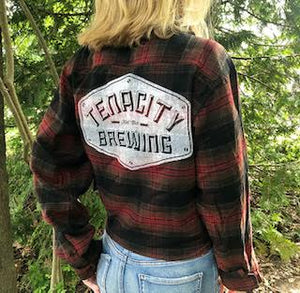 Tenacity Red/Black Flannel