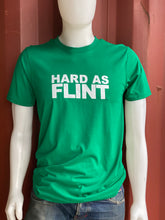 Green Hard As Flint Logo Tee