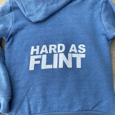 Youth Hard As Flint Zip Hoodie