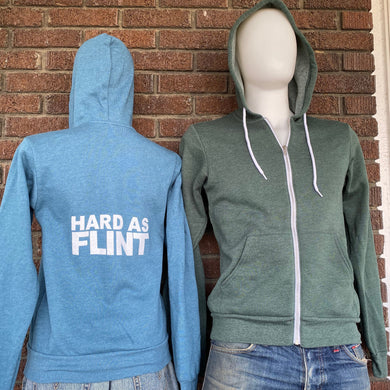 Hard As Flint Zip Hoodie