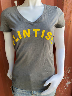 Flintish Ladies V-neck