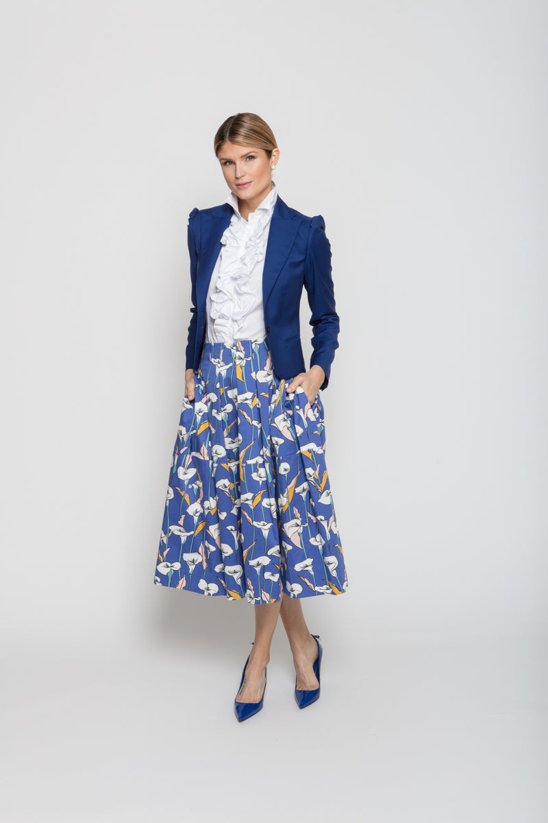Carol Skirt in Lilly Print